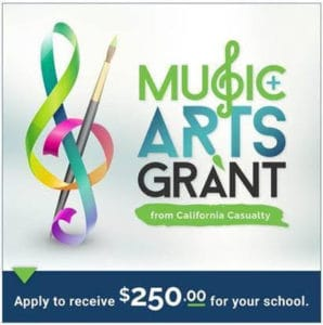 California Casualty's Music and Arts Grant