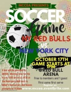 MCCEA Red Bulls Game